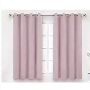 NWOT BYSURE Blush Pink Blackout Darkening Curtains